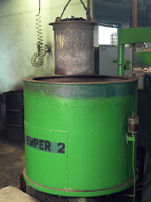 Austemper / Martemper heat treats at different temperatures to change the part's metallurgical properties